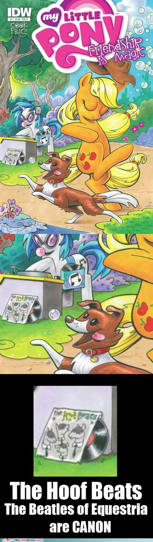 beatles comics hoof beats looking close - 6580149504