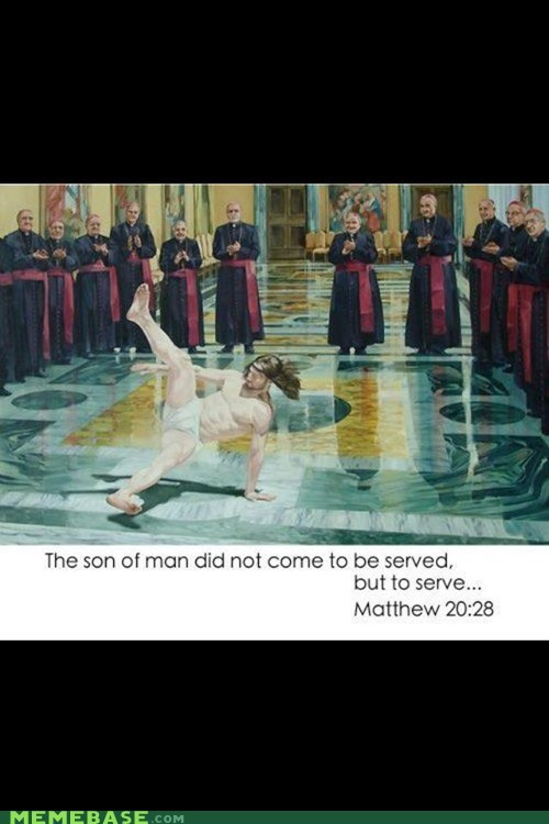 breakdancing jesus matthew you got served - 6580229888
