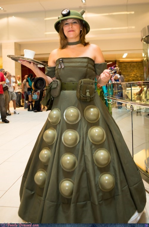 dalek doctor who dress