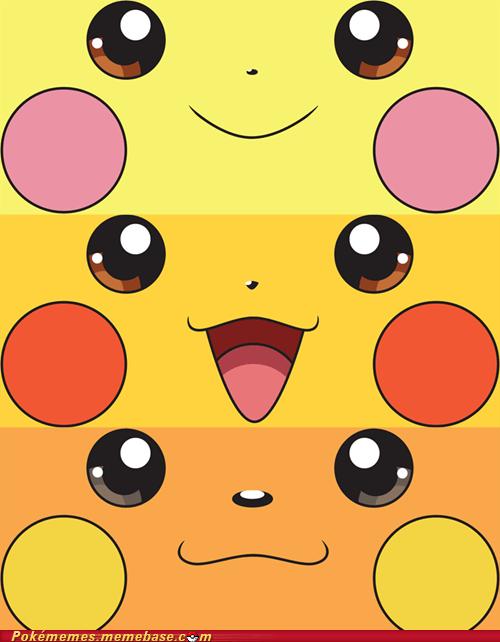cute evolution pichu pikachu raichu zapchus - 6580295680