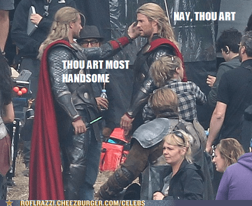 actor celeb chris hemsworth funny Thor - 6580410368