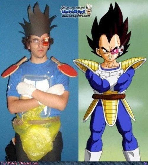 cosplay dragonball z Nailed It