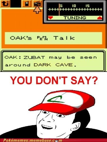 meme pkmn talk you dont say zubat - 6580495104