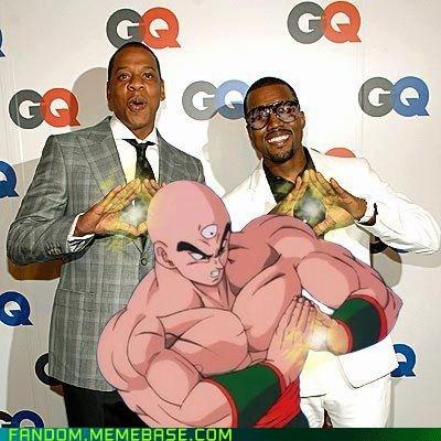 cartoons crossover Dragon Ball Z Jay Z kanye tien shinhan - 6580709888
