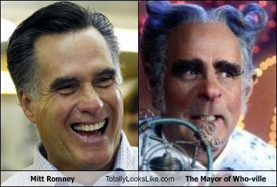 funny,mayor of who ville,Mitt Romney,politics,TLL