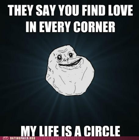 circles,corners,forever alone,geometry