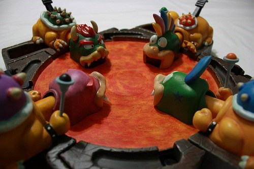 for sale hungry hungry hippos koopa Super Mario bros video games