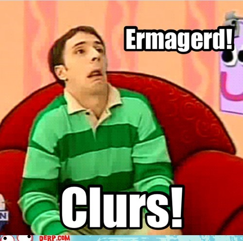 blues clues,ermhagerd,steve,TV