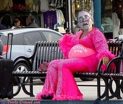 code pink old lady wtf - 6580849408