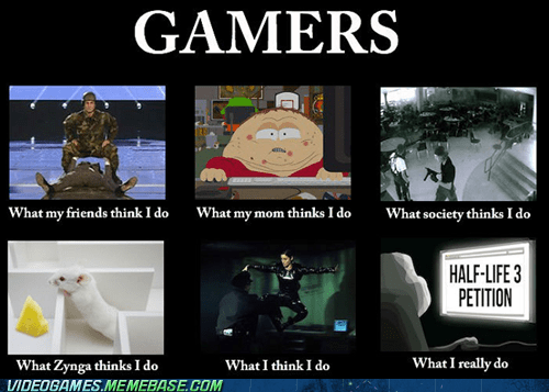gamers meme teabag what people think i do zynga - 6580866816