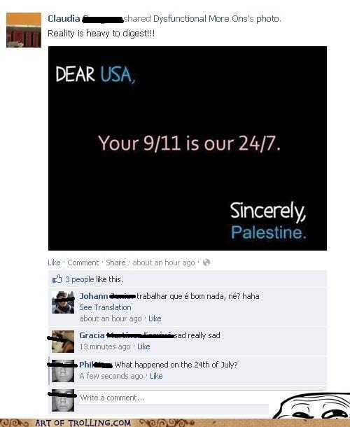 911 facebook Palestine - 6580939008