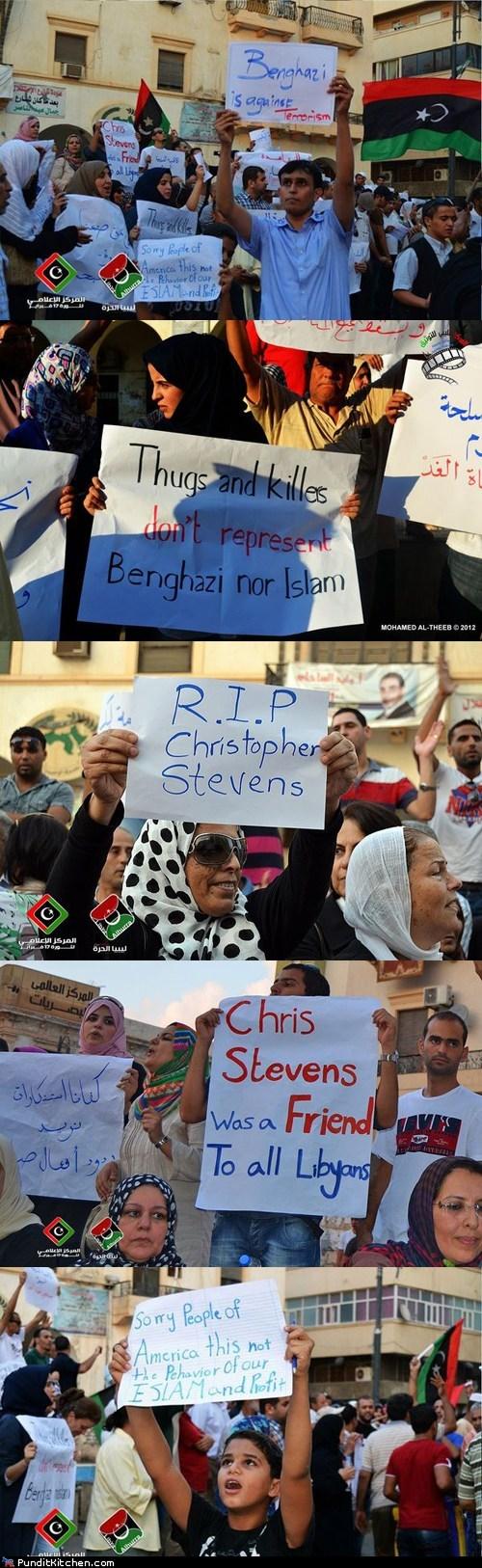 benghazi libya Protest rally terrorism - 6581102592