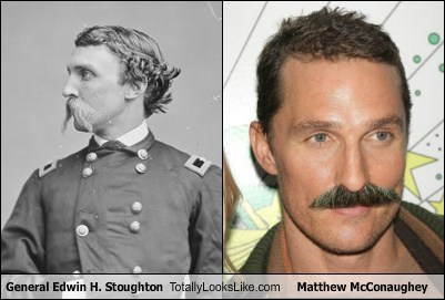 actor,celeb,funny,general edwin h stoughton,history,matthew mcconaughey,TLL