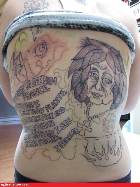 back tattoos,wtf