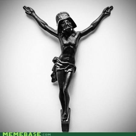 darth vader i find your lack of faith disturbing jesus star wars - 6581426432