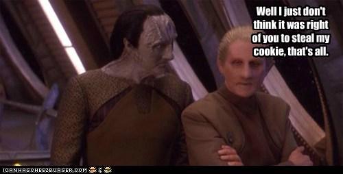 odo gul dukat kardassian Sad cookies Star Trek Deep Space Nine - 6581470720