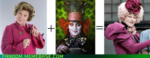 alice in wonderland crossover Harry Potter movies hunger games - 6581514752
