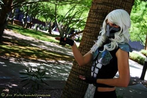 cosplay Mortal Kombat smoke video games - 6581708288