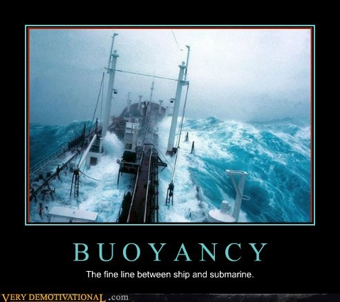 buoyancy ocean ship