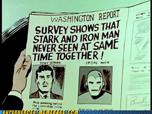 iron man newspaper off the page uh oh - 6581803008