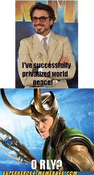 iron man loki Movie oops privatized world peace - 6581817088