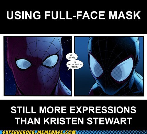 facial expressions kristen stewart peter parker Spider-Man - 6581872384