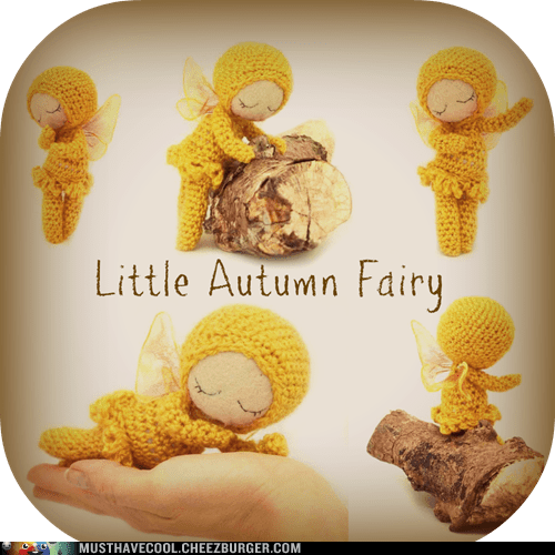Amigurumi autumn fairy fall sweet - 6581922560