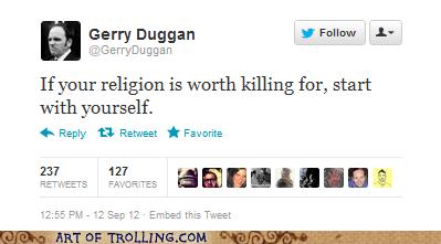 an hero religion twitter