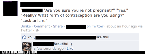 contraception,facebook,lesbians