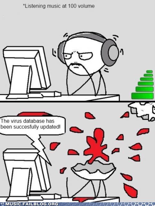 computers headphones update virus database - 6582549760
