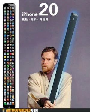 iphone 20 light saber star wars tall iphone - 6582601216
