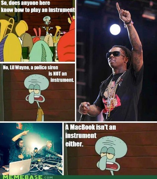 disappoint,is mayonnaise an instrument,lil wayne,skrillex