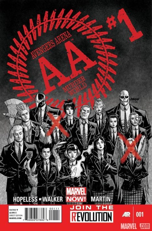 academy,arena,avengers,battle royale,cash grabs,hunger games,marvel