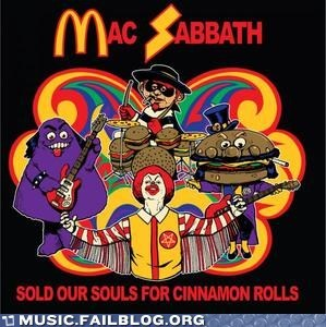 black sabbath,McDonald's