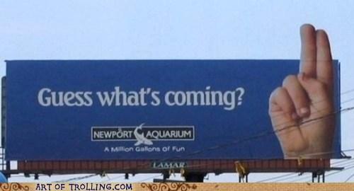 billboard IRL sign - 6582799360