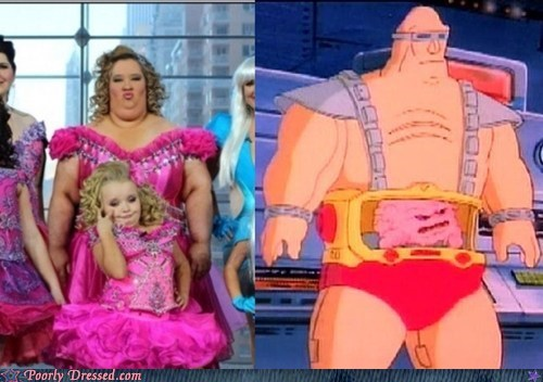 honey boo-boo,Krang,TMNT