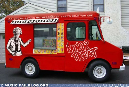 ice cream truck,minor threat