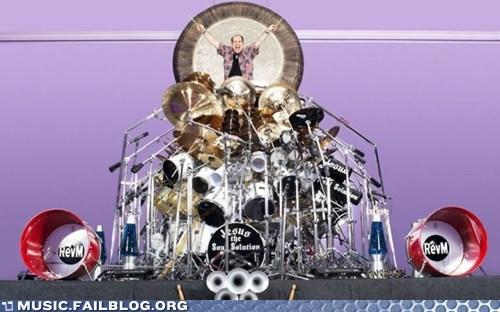 drumset,massive