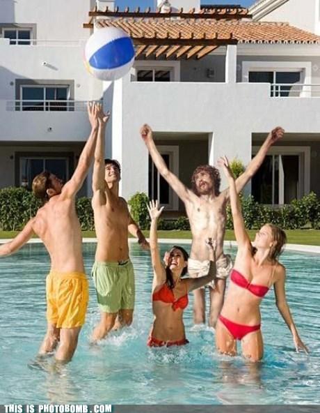 having fun jesus pool swimming - 6582895616