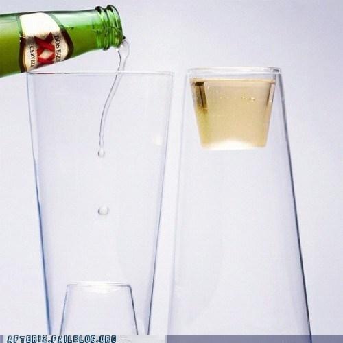 amazing beer mug shot glass sloshed swag - 6582968064