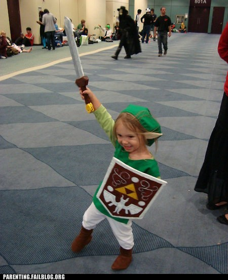 childrens-costumes link the legend of zelda - 6583105280