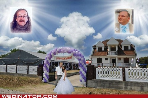 fathers,photoshop,deceased,tacky,weddings