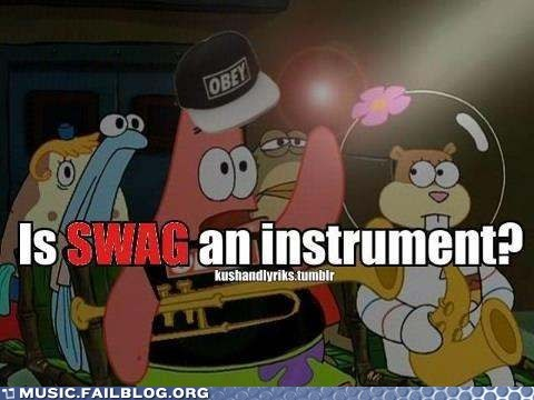 instruments patrick starfish SpongeBob SquarePants swag