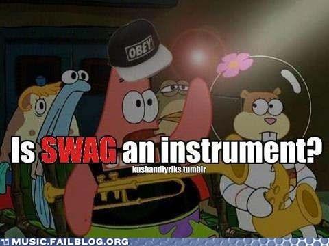 instruments patrick starfish SpongeBob SquarePants swag - 6583203840