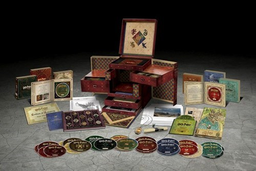 books box set for sale Harry Potter movies wizards-collection