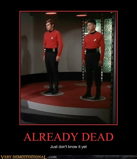 dead,red shirt,Star Trek