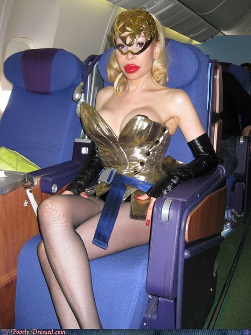 airplane,cleavage,mask,wtf