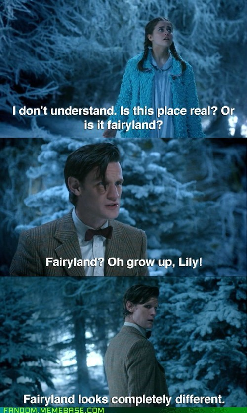 crossover,doctor who,lily,lion witch and the wardrobe