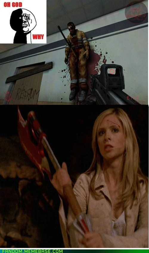 Buffy the Vampire Slayer oh god why video games - 6583771648