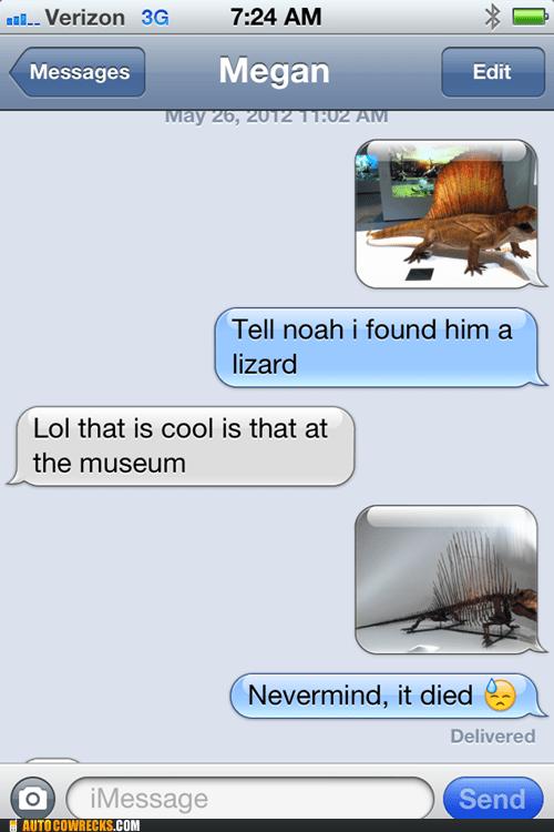 died dinosaurs iPhones lizard - 6584604416